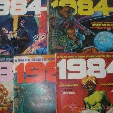 Livros de Banda Desenhada: LOTE DE 8 COMICS 1984. CON RICHARD CORBEN, CARLOS GIMENEZ, WILL EISNER, ETC. EDITORIAL TOUTAIN.. Lote 26268292
