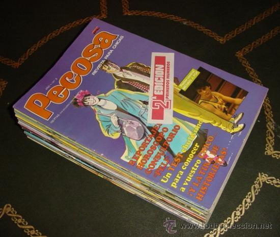 PECOSA (M.C EDICIONES). (DE LA AUTORA DE ESTHER) (Tebeos y Comics - Tebeos Colecciones y Lotes Avanzados)