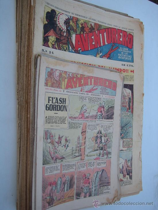 AVENTURERO. H. AMERICANA 1935. LOTE DE 37 EJEMPLARES. (Tebeos y Comics - Tebeos Colecciones y Lotes Avanzados)