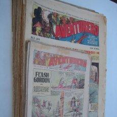 Tebeos: AVENTURERO. H. AMERICANA 1935. LOTE DE 37 EJEMPLARES.. Lote 24576542
