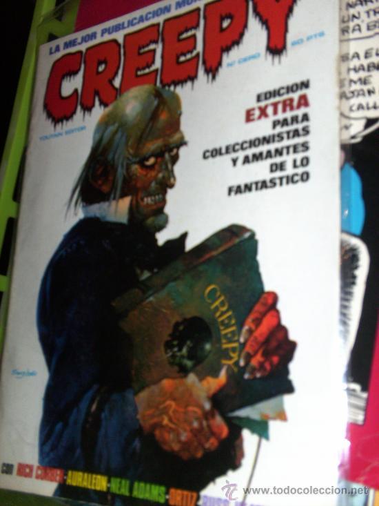 CREEPY (TOUTAIN ) LOTE ORIGINAL (Tebeos y Comics - Tebeos Colecciones y Lotes Avanzados)