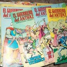 Tebeos: EL GUERRERO DEL ANTIFAZ (COLOR) (VALENCIANA) 343 EJ (COMPLETA). Lote 25111529