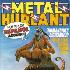 Tebeos: METAL HURLANT Y EXTRA (NUEVA FRONTERA / EUROCOMICS) ORIGINALES 1981-1987 LOTE CASI COMPLETO. Lote 26734769