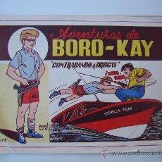 Tebeos: BORO-KAY. ORIGINAL Y COMPLETA. CARSOTO EN 1956. . Lote 26091497