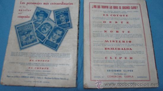 Tebeos: DOS REVISTAS ANTIGUAS DEL COYOTE POR J MALLORQUI EDICIONES CLIPER - Foto 2 - 26256672