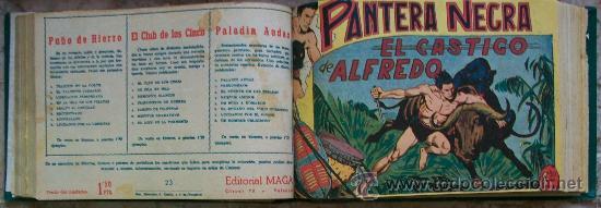 PANTERA NEGRA (MAGA) 54 EJ (COMPLETA) (Tebeos y Comics - Tebeos Colecciones y Lotes Avanzados)