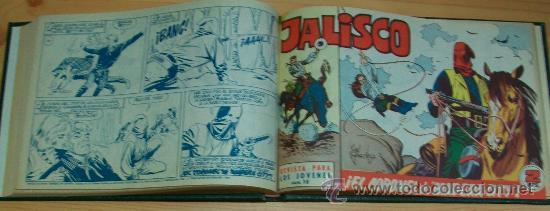 JALISCO (BRUGUERA) 20 EJ. (COMPLETA) (Tebeos y Comics - Tebeos Colecciones y Lotes Avanzados)