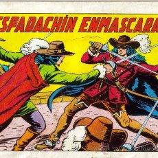Tebeos: EL ESPADACHIN ENMASCARADO 2ª EDICION (VALENCIANA) ORIGINAL 1981 LOTE. Lote 26800993
