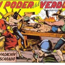 Tebeos: EL ESPADACHIN ENMASCARADO REEDICION LOTE. Lote 26801171