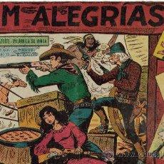 Tebeos: JIM ALEGRIAS ( MAGA ) ORIGINALES 1960-1961 LOTE. Lote 27095582