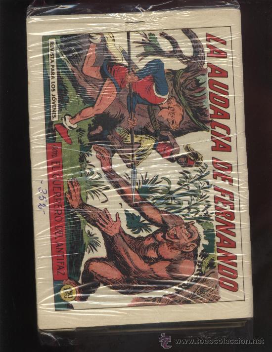 GRAN LOTE DEL GUERRERO DEL ANTIFAZ (Tebeos y Comics - Tebeos Colecciones y Lotes Avanzados)