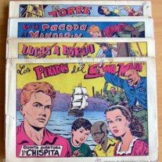 Tebeos: CHISPITA 5ª AVENTURA - EDITORIAL GRAFIDEA 1954 - COMPLETA, 24 CUADERNOS, DIBUJOS DE AMBRÓS. Lote 28077208