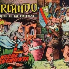 Tebeos: ORLANDO PRINCIPPE DE LAS TINIEBLAS-COMPLETA- ORIGINAL-1965-- IVARS PORTABELLA -SUELTOS-C185 BIBLIOTE. Lote 28237467