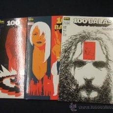 Tebeos: COLECCION COMPLETA - 3 EJEMPLARES - 100 BALAS - MAÑANA ROBADO - NUEVOS - SIN LEER - . Lote 28289027