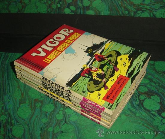 VIGOR (EUREDIT). ¡¡ COMPLETA !! (Tebeos y Comics - Tebeos Colecciones y Lotes Avanzados)