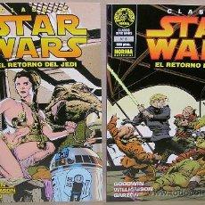 Tebeos: STAR WARS CLASSIC – NORMA AÑO 1997 – EL RETORNO DEL JEDI 1 2 – COMPLETA – NUEVO (PRECINTADO). Lote 55043305