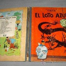 Tebeos: TINTIN JUVENTUD 1ª EDICIÓN EL LOTO AZUL 1ª EDICIÓN 1965. REGALO EL CETRO DE OTTOKAR 5ª EDICIÓN 1972.. Lote 28964664