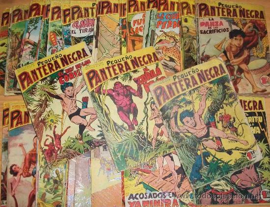 PEQUEÑO PANTERA NEGRA (MAGA) 70 EJ (COMPLETA) (ORIGINAL) (Tebeos y Comics - Tebeos Colecciones y Lotes Avanzados)