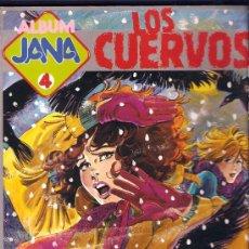 Tebeos: ALBUM JANA Nº 4 - LOS CUERVOS ED.SARPE 1984 NUEVO. Lote 29596736