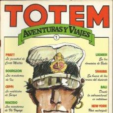 Tebeos: TOTEM AVENTURAS Y VIAJES ( NUEVA FRONTERA ) ORIGINAL 1983 COMPLETO. Lote 29684615