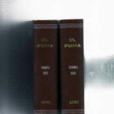 Tebeos: EL PUMA SEGUNDA SERIE, COLECCION FACSIMIL EN 1 LUJOSO VOLUMEN. Lote 32532320