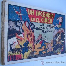 Tebeos: MERLIN EL MAGO MODERNO. HISPANO AMERICANA 1942. LOTE ORIGINAL DE 15 NºS.. Lote 30085802