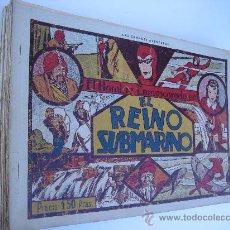 Tebeos: EL HOMBRE ENMASCARADO, LOTE ORIGINAL DE 23 NºS.HISPANO AMERICANA 1941.. Lote 30099838