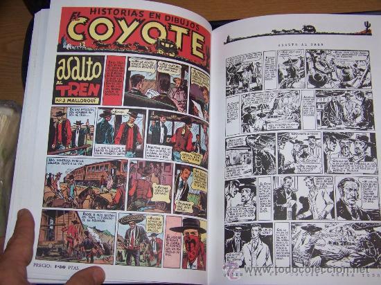 Tebeos: EL COYOTE ED. AGUALARGA COMPLETA 4 TOMOS - Foto 5 - 30203145