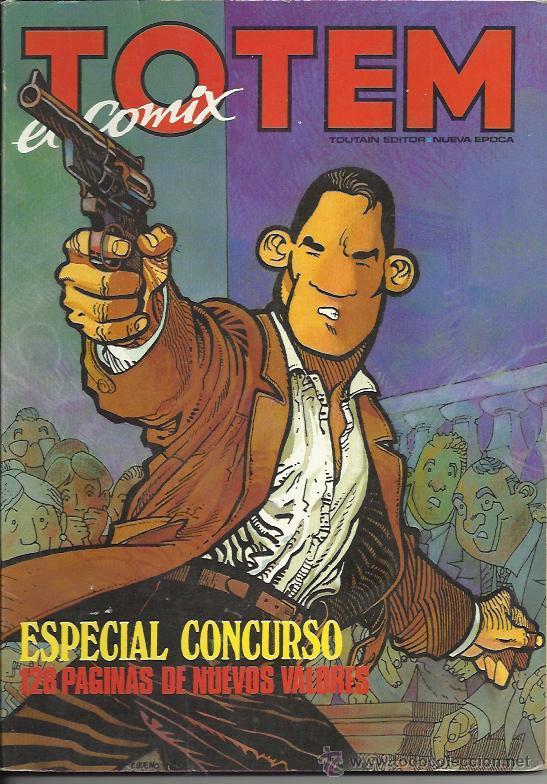 Tebeos: TOTEM EL COMIX ( TOUTAIN ) ORIGINALES 1987-1992 LOTE - Foto 2 - 30341810