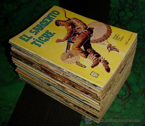 SARGENTO TIGRE. (VILMAR - 1972) (Tebeos y Comics - Tebeos Colecciones y Lotes Avanzados)