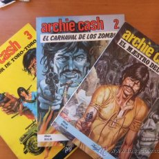 Tebeos: ARCHIE CASH 3 TOMOS COMPLETA EDICIONES RASGOS 1983. Lote 30480626