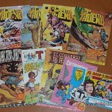 Tebeos: LOTE DE 9 TEBEOS O COMICS DIVERSOS. CAPITAN TRUENO, JAVATO... VER FOTOS.. Lote 30737824
