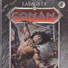 Tebeos: LA SAGA DE CONAN , LOTE DE 18 TOMOS ( Nº 1 AL 18 ). Lote 31170810
