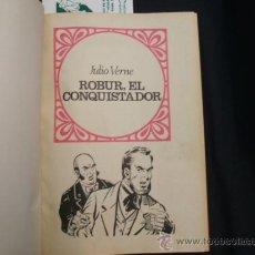 Tebeos: JOYAS LITERARIAS JUVENILES - 13 TEBEOS ENCUADERNADOS DE JULIO VERNE Y EMILIO SALGARI - BRUGUERA - . Lote 31181103