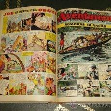 Tebeos: AVENTURERO (CLIPER - 1953). ¡¡ COMPLETA !!. Lote 31212430