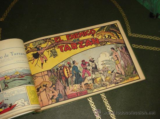 Tebeos: TARZAN (H. AMERICANA - 1942). ¡¡ COMPLETA !! - Foto 2 - 31217894