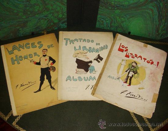 ALBUMES XAUDARO (LUIS TASSO - 1897). ¡¡ PIEZAS DE MUSEO !! (Tebeos y Comics - Tebeos Colecciones y Lotes Avanzados)