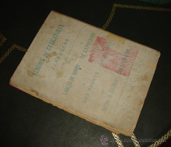Tebeos: ALBUMES XAUDARO (LUIS TASSO - 1897). ¡¡ PIEZAS DE MUSEO !! - Foto 7 - 31300083
