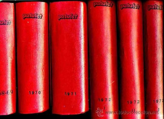 PATUFET SEGUNDA ÉPOCA (1968 A 1973) LOS 167 NÚMEROS PUBLICADOS (Tebeos y Comics - Tebeos Colecciones y Lotes Avanzados)