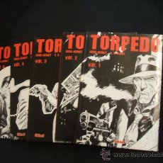 Tebeos: COLECCION COMPLETA - 5 TOMOS - TORPEDO - JORDI BERNET - GLENAT - EN CATALÀ - . Lote 31954040