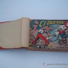 Tebeos: EL DUENDE, EL COSACO VERDE Y JIM ALEGRIAS. TODOS LOS 1ºS NÚMEROS EN UN TOMO POCO RECORTADO.. Lote 32059417
