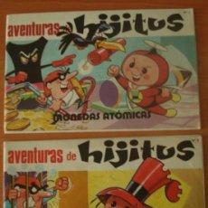 Tebeos: LOTE DE 2 COMICS HIJITUS. MONEDAS ATÓMICAS. EDITORIAL PTT.. Lote 32196587