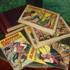 Tebeos: EL ESPADACHIN ENMASCARADO (VALENCIANA - 1952). ¡¡ UN GRAN CLASICO !!. Lote 32206301
