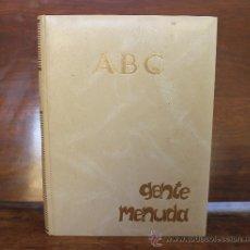 Tebeos: GENTE MENUDA: SEMANARIO JUVENIL DE ABC . III EPOCA TOMO Nº 1 – 19 DE NOVIEMBRE DE 1989. Lote 32288440