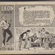Tebeos: EL LEÓN DE FLORENCIA. COMPLETA. SUPLEMENTO DE PANTERA PEGRA.. Lote 32596151