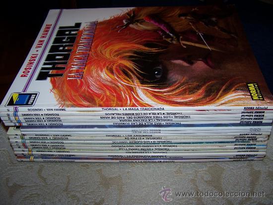 25 ALBUMES DE THORGAL (Tebeos y Comics - Tebeos Colecciones y Lotes Avanzados)