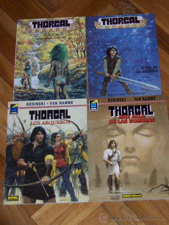 Tebeos: 25 ALBUMES DE THORGAL - Foto 3 - 32892092