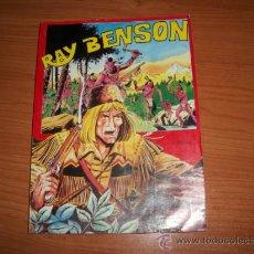 Tebeos: RAY BENSON COLECCION COMPLETA DE 4 NUMEROS EN UN TOMO DE EDITORIAL AMAIKA 1981. Lote 32904548