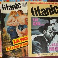 Tebeos: LOTE 3 COMIC TITANIC DE EL JUEVES NUMEROS 1, 2, Y 5. Lote 33290772