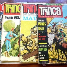 Tebeos: LOTE COMIC JUVENIL--TRINCA--Nº49-53-56--AÑO 1971. Lote 33292315